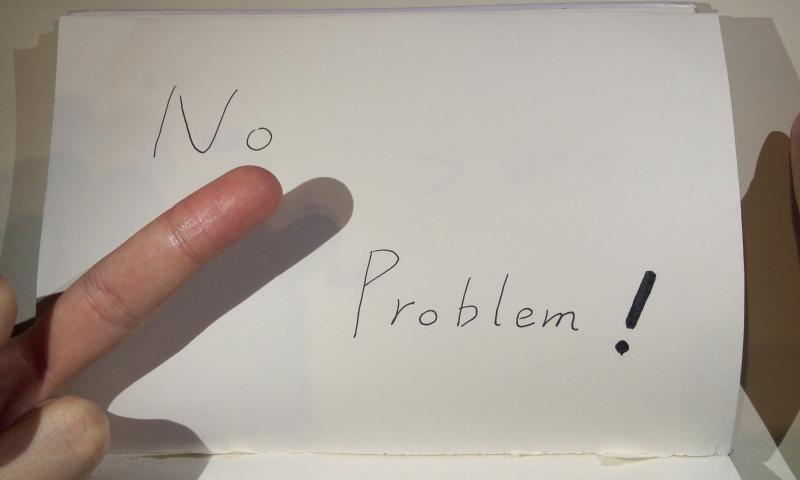 4.NO PROBLEM