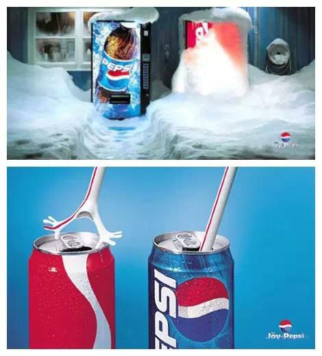 可口可乐被掩盖住