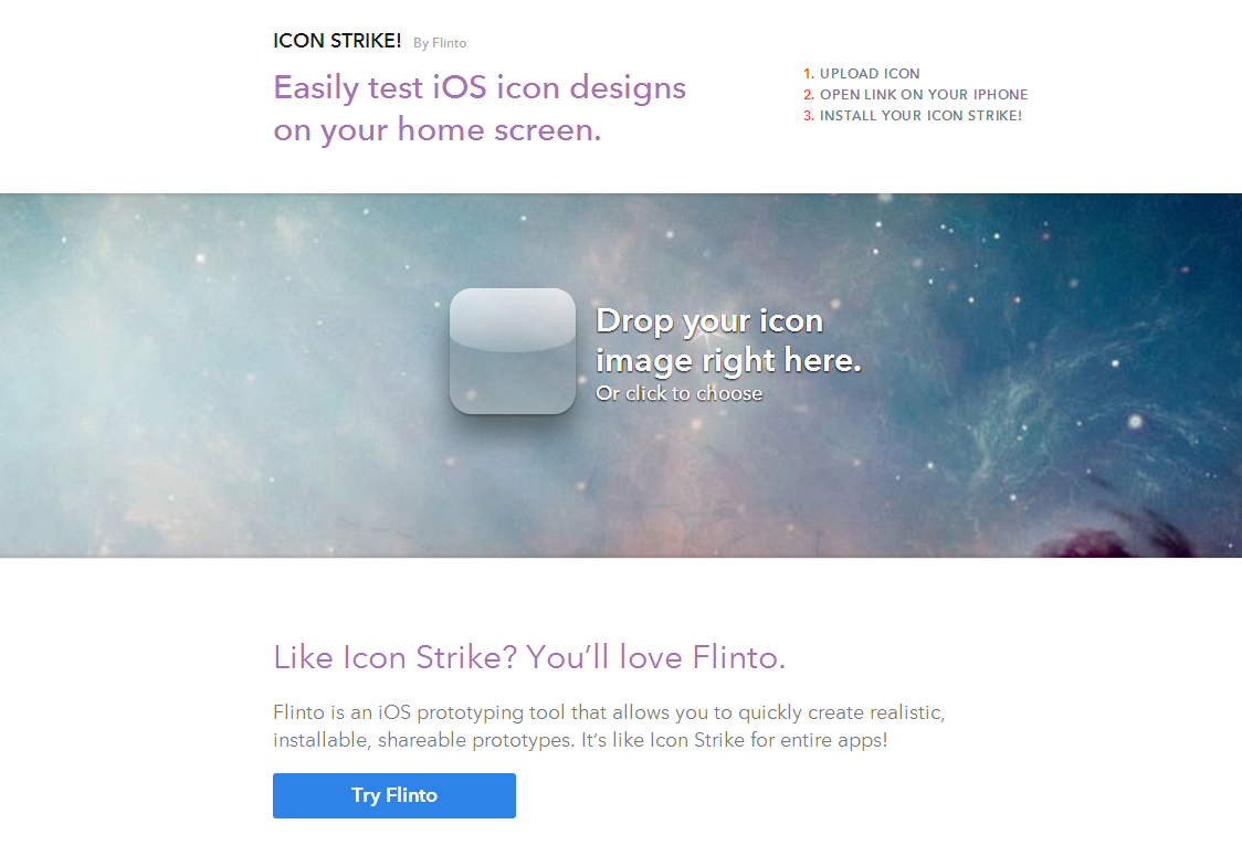 Flinto Icon Strike!