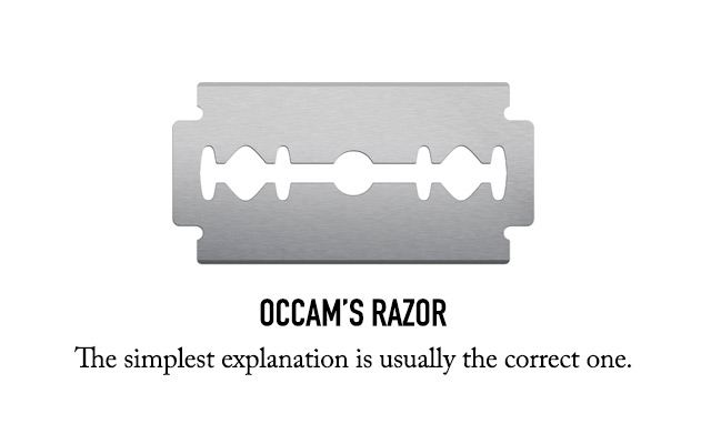 Occams Razor in Design