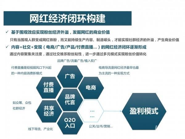 网红经济30