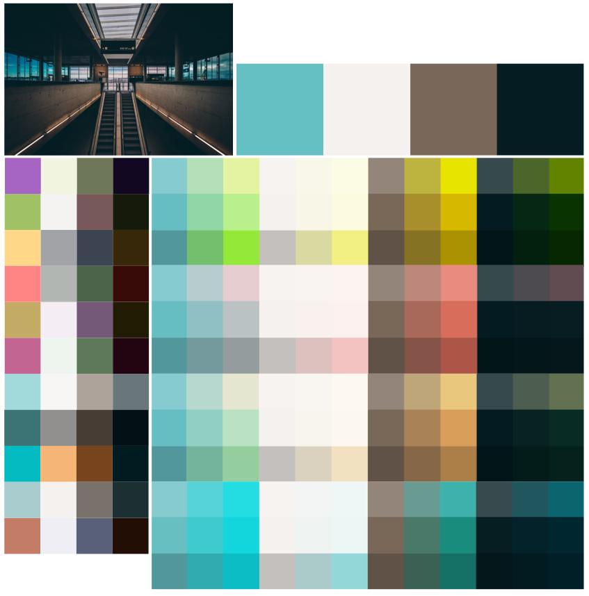 优秀配色方案的探索过程
