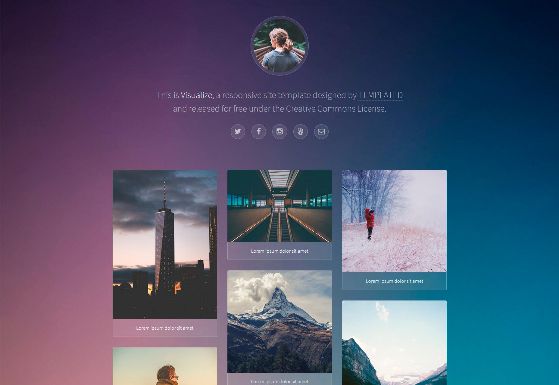 visualize-nice-responsive-web-portfolio-template