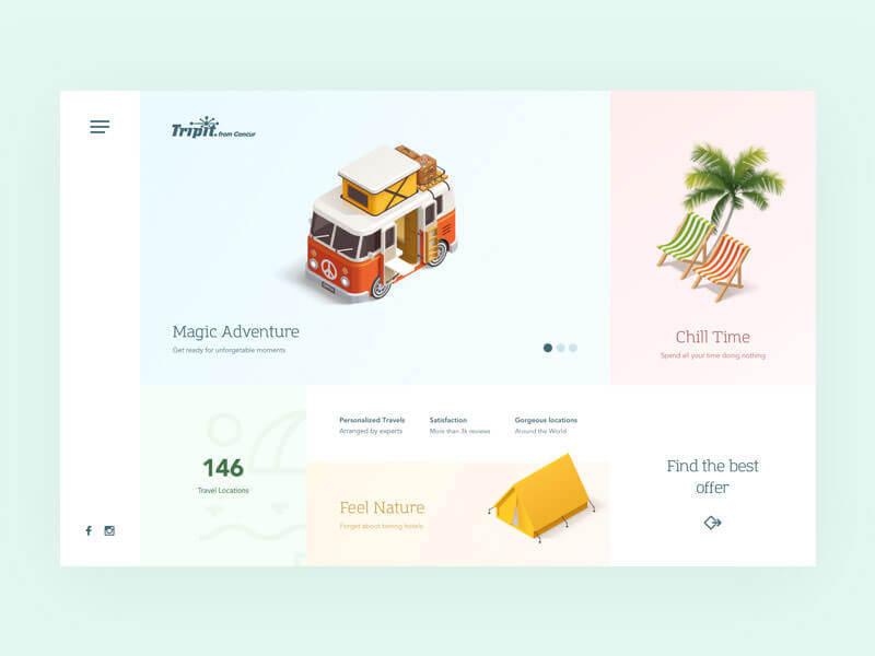 设计网页时选择配色的八个要点 - 第8张  | 鹿鸣天涯