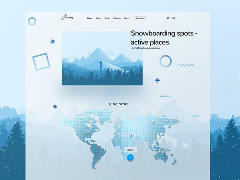设计网页时选择配色的八个要点 - 第6张  | 鹿鸣天涯