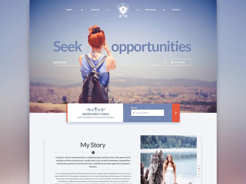 设计网页时选择配色的八个要点 - 第5张  | 鹿鸣天涯