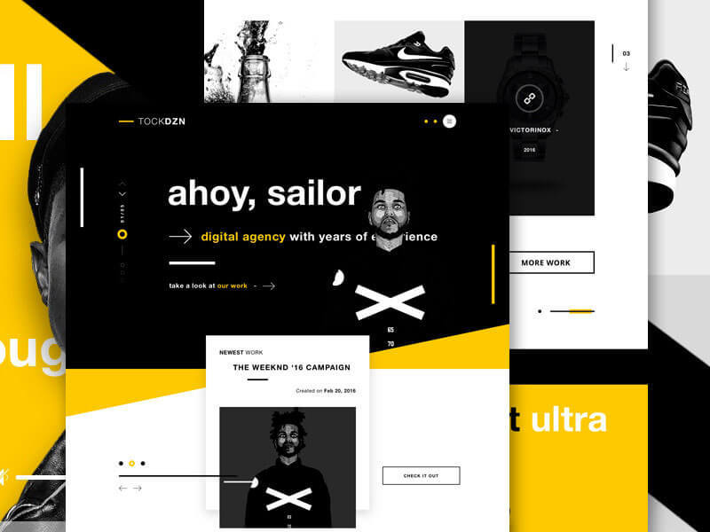 设计网页时选择配色的八个要点 - 第4张  | 鹿鸣天涯