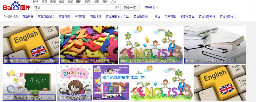 图片形式的搜索引擎广告