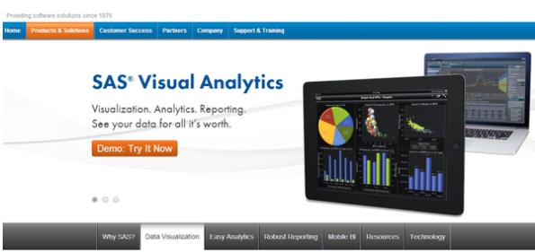 10. SAS VisuaAnalytics // @SASsoftware