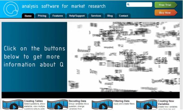 36. Q Research Software // @qstatistics