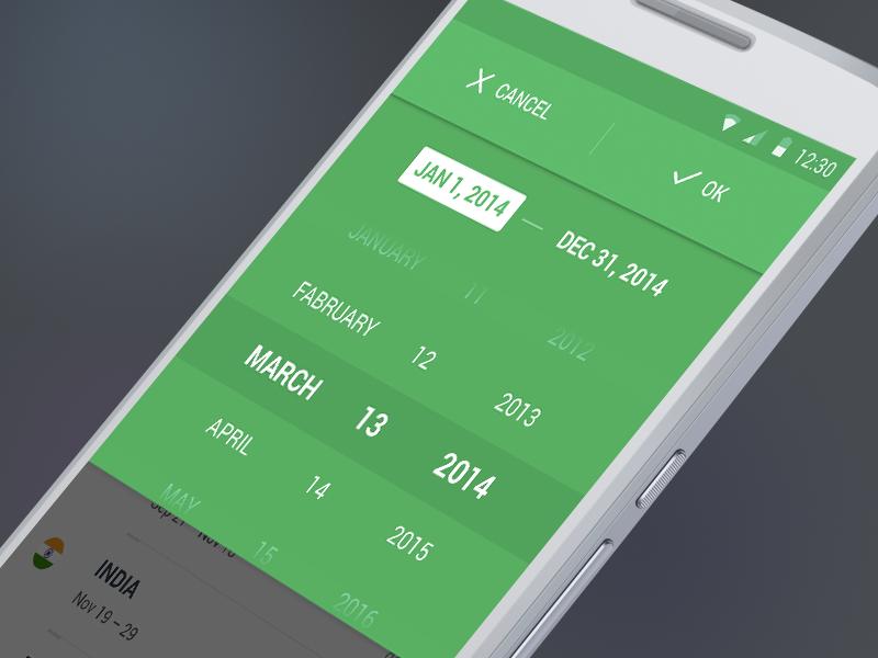 除了系统默认样式,日期选择器设计还有哪些选择?