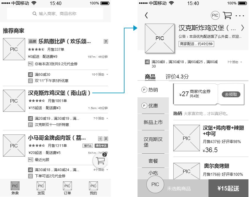 """倒推""""饿了么""""App产品需求文档(PRD)插图(27)"""