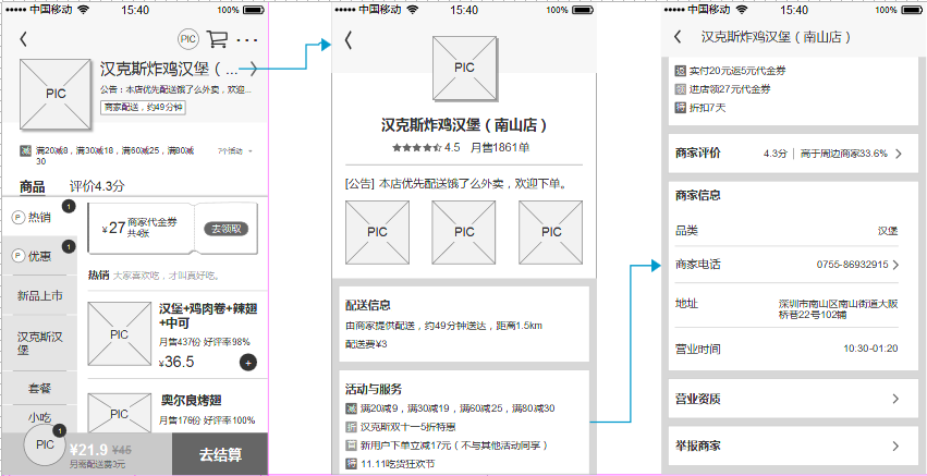 """倒推""""饿了么""""App产品需求文档(PRD)插图(31)"""