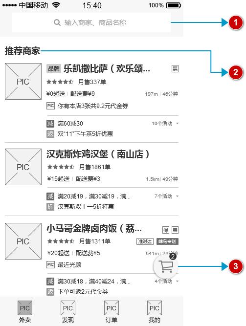 """倒推""""饿了么""""App产品需求文档(PRD)插图(26)"""