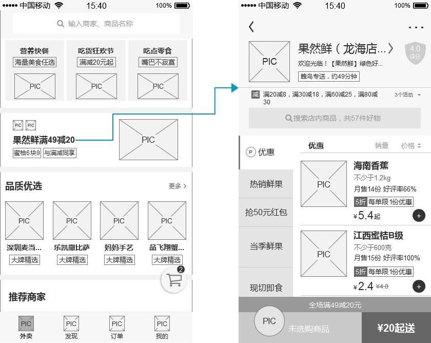 """倒推""""饿了么""""App产品需求文档(PRD)插图(24)"""