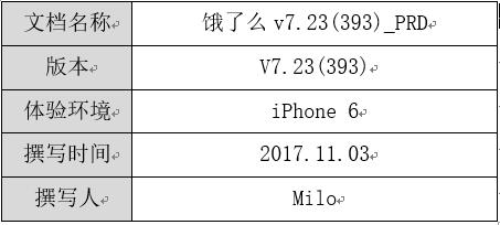 """倒推""""饿了么""""App产品需求文档(PRD)插图(1)"""