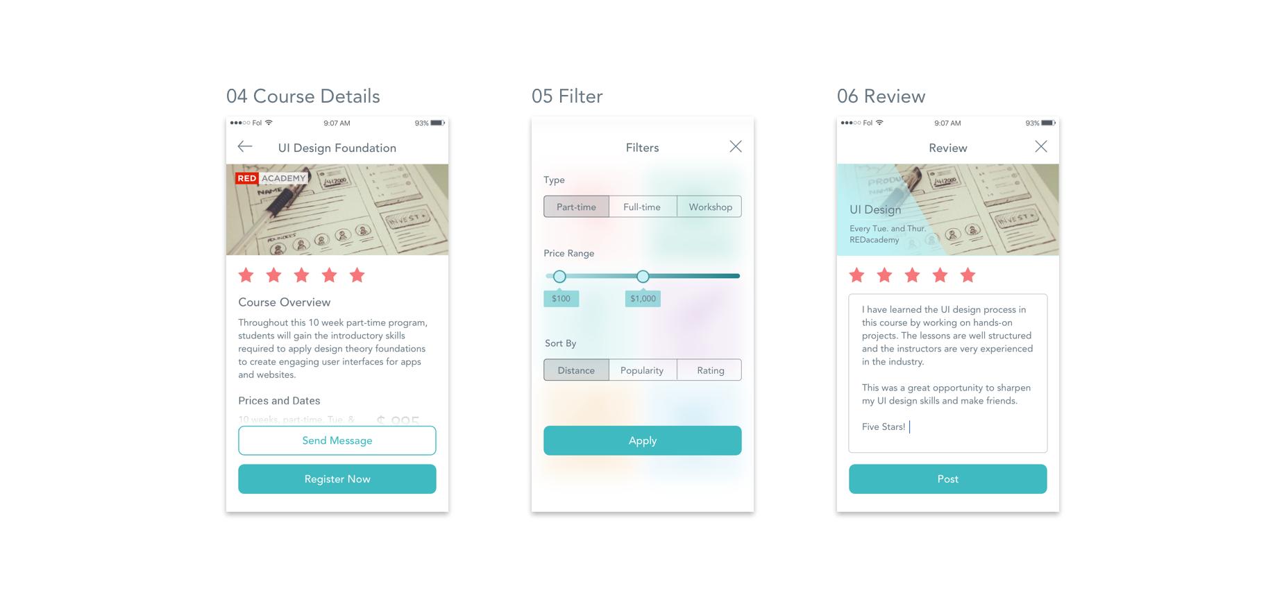 案例分析研究:手机软件app的ui设计流程