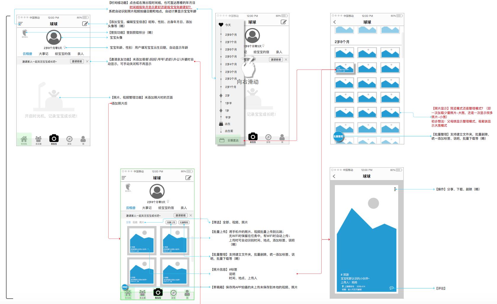 【宝宝时光机】宝宝成长记录APP产品需求文档-产品公社