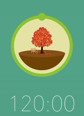 树木森林简笔画步骤