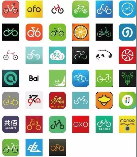 中国城市标志 手绘