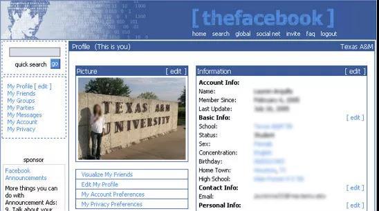 社交网络的开山鼻祖:Facebook的增长故事