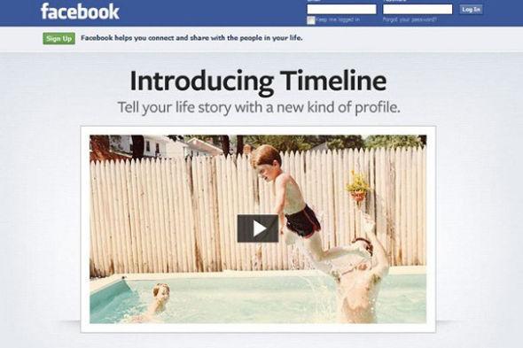Facebook时间线