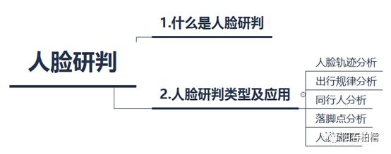 应用层下的人脸识别(四):人脸研判