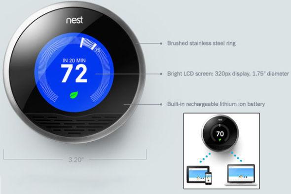 智能恒温器Nest