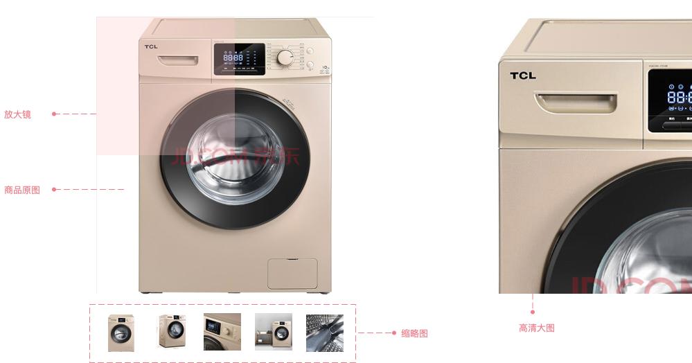 【Axure RP9案例】京东与淘宝的商品图片是如何被放大的