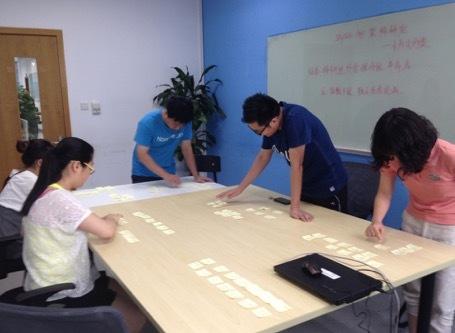 卡片分类法确定产品信息架构(四A)-线下卡片分类