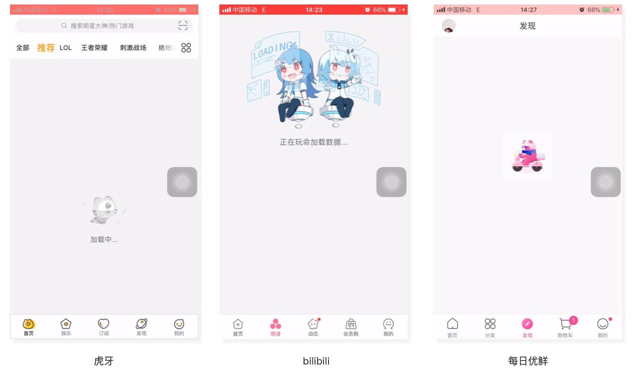 淘宝实例分析:常见的七种app加载样式设计