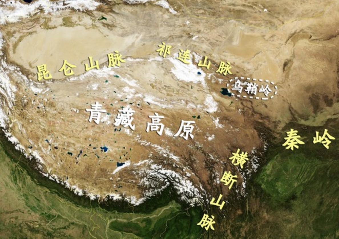"""图08:河西走廊的地理结构 来源:施展老师公众号""""施展世界"""""""