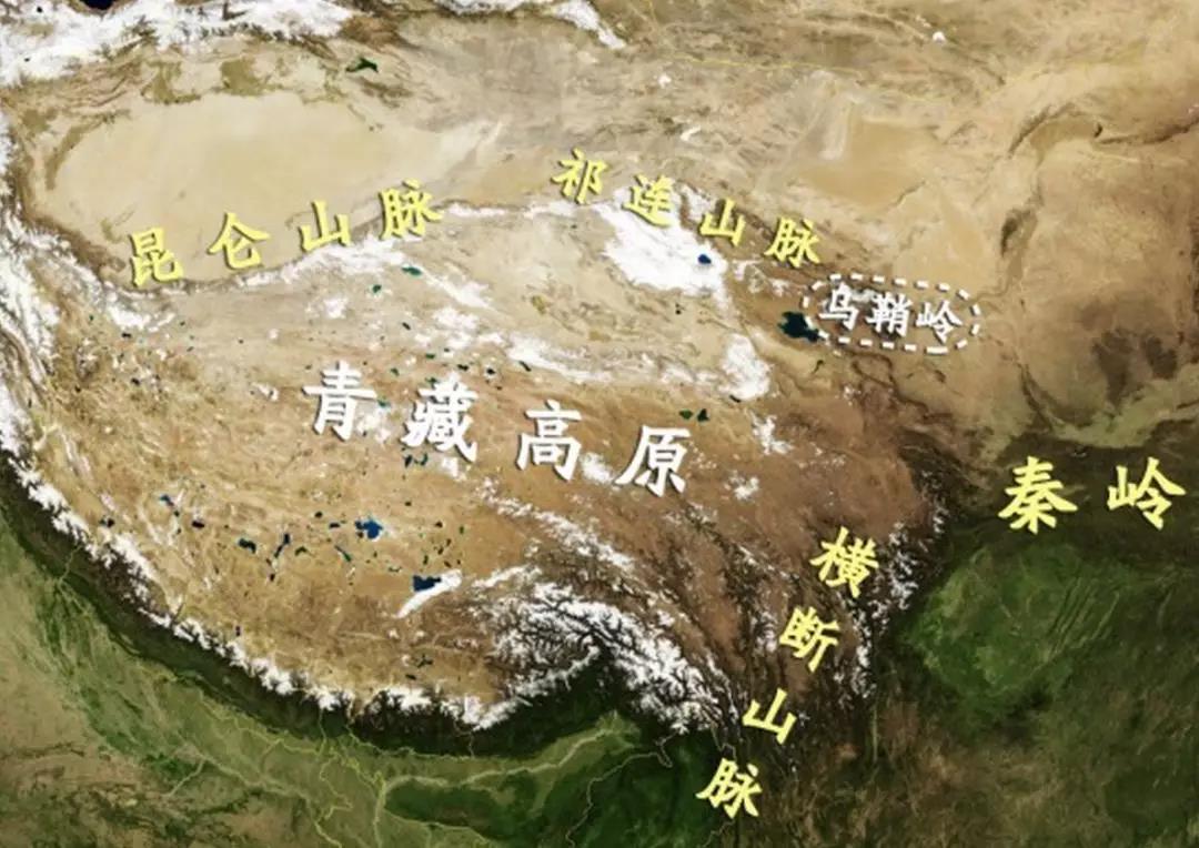 """圖04:河西走廊的地理結構 來源:施展老師公眾號""""施展世界"""""""