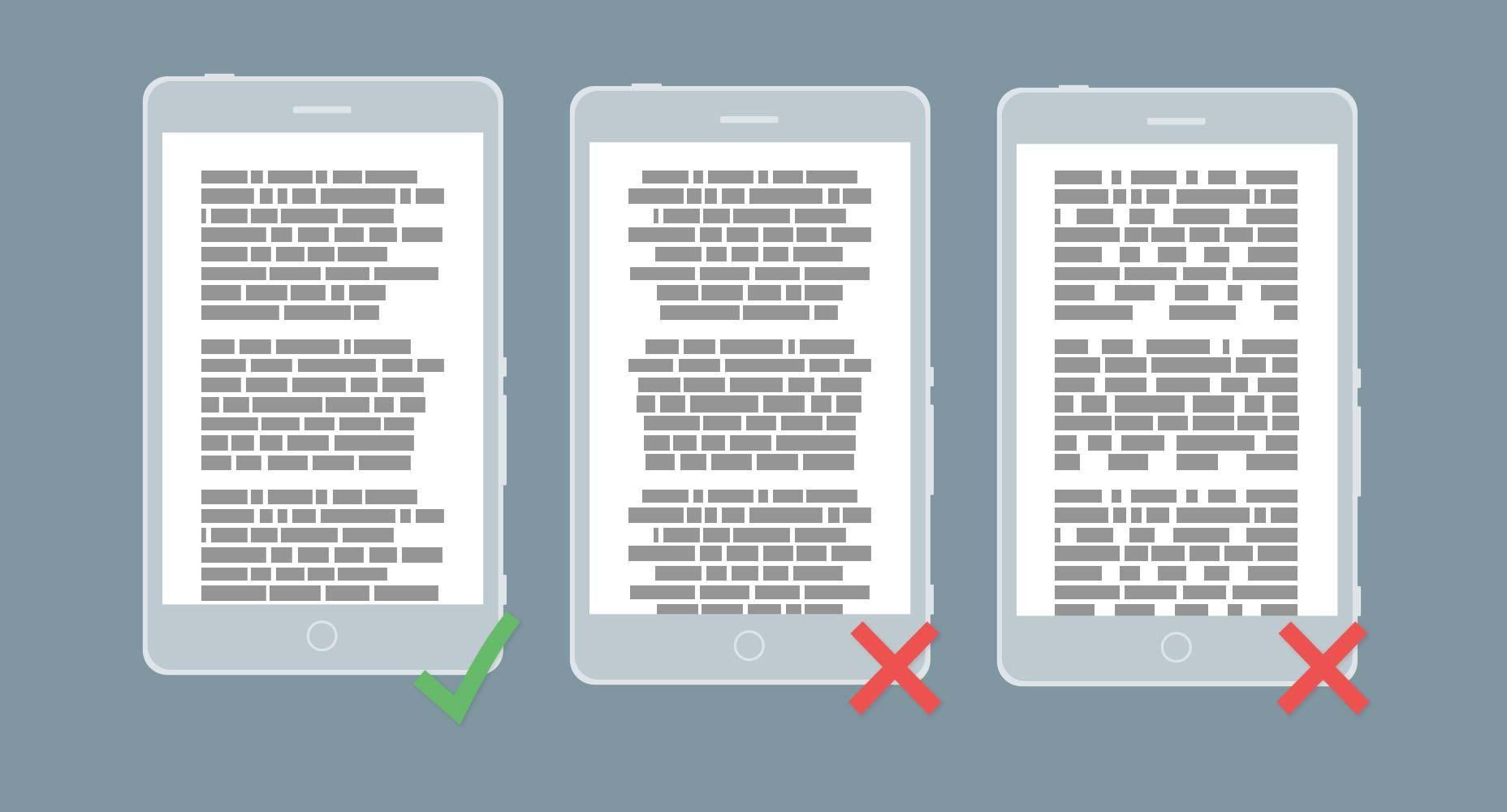 新媒体运营:字体排版设计准则,提高移动设备可读性!