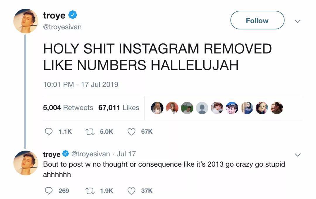 Instagram隐藏点赞数后,国外社交媒体发生了什么?| 海外Weekly
