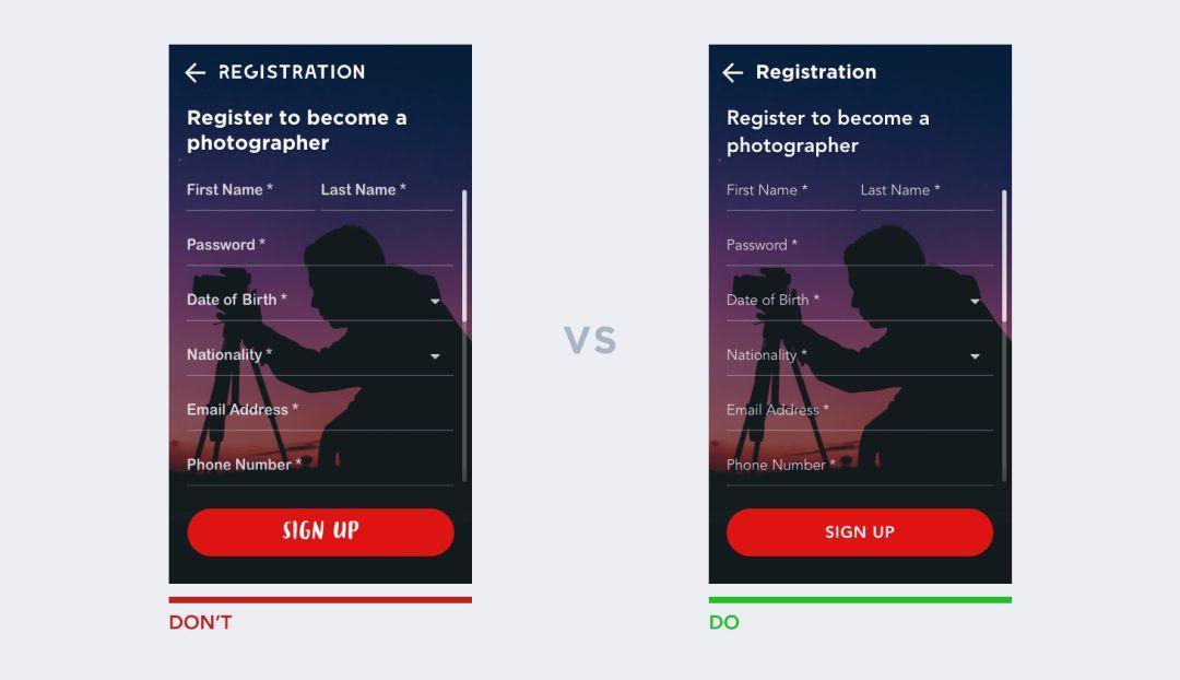 UI设计中的10条经验法则