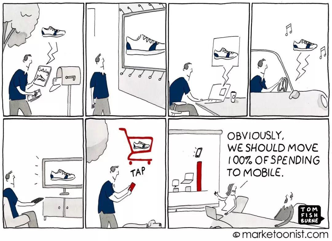 一组漫画,看透营销热点话题