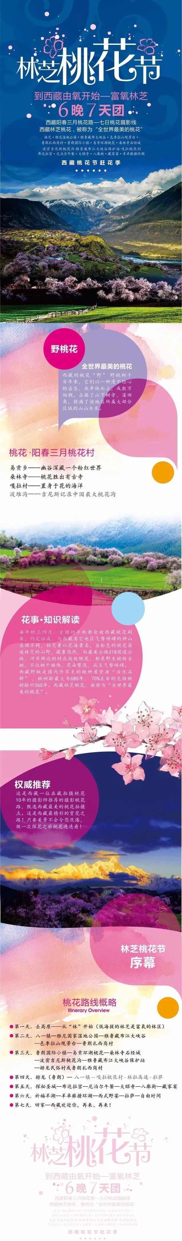 林芝桃花节丨西藏7天-户外
