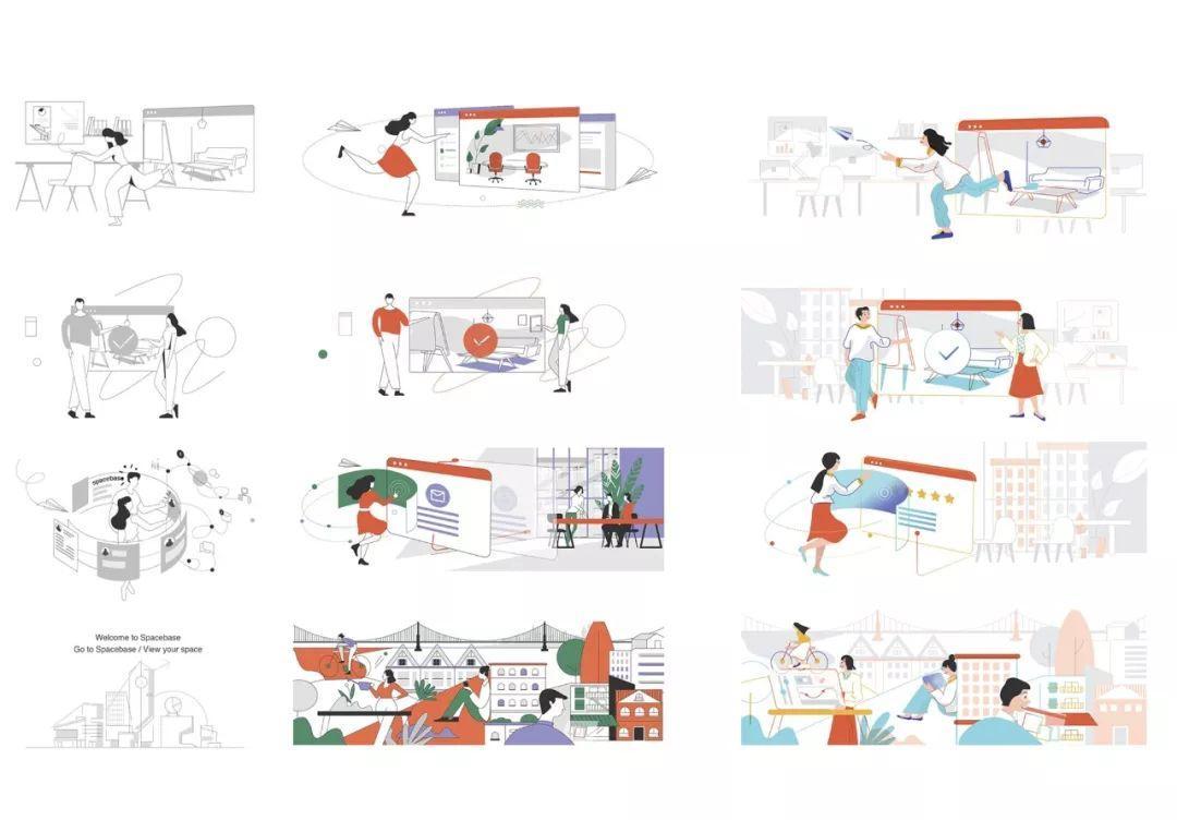 干货|如何建立一个强大的品牌插画系统?