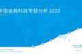 这几个金融科技的新势力你可能还不知道! | 2020中国金融科技专题分析