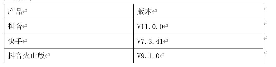 短视频竞品分析报告——以抖音、快手、抖音火山版为例