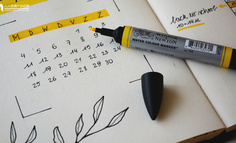 Axure 教程:用中继器实现日历效果