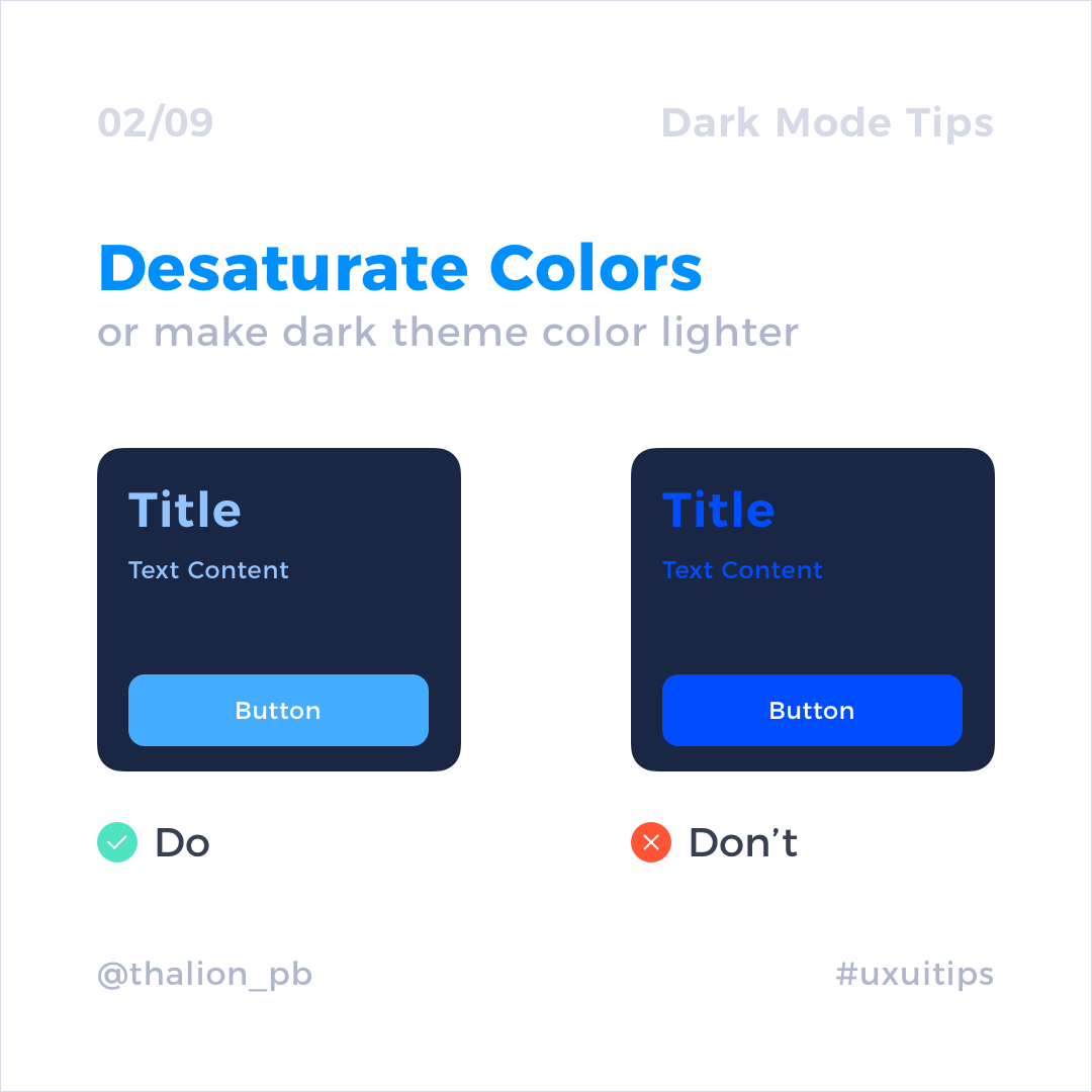 教你巧用UI设计中的暗黑模式– Dark Mode