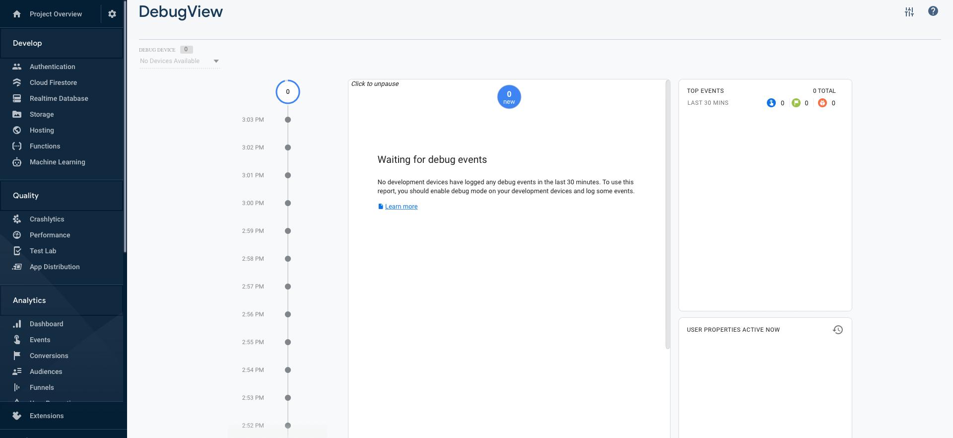 利用 Google Firebase 建立数据收集与分析系统