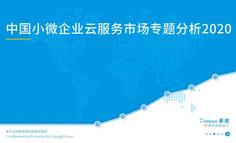 2020中国小微企业云服务市场专题分析