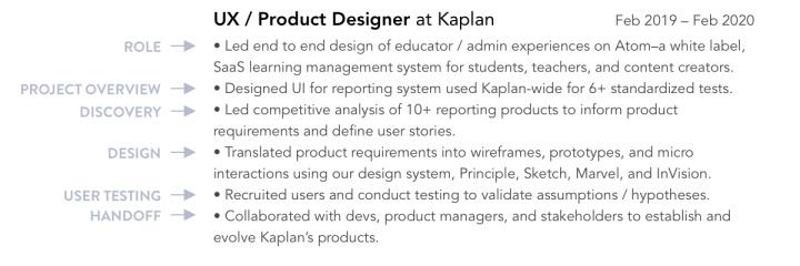 故事讲述在设计过程中的实际应用