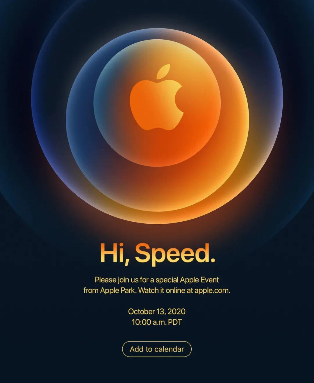 Apple Event 2020海报设计