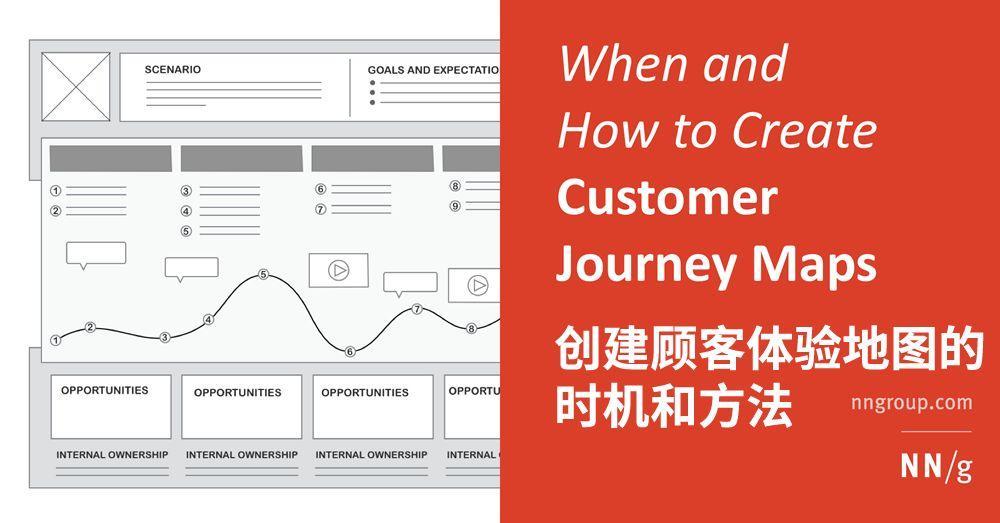 译体验   创建顾客体验地图的时机和方法