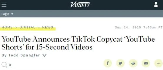 Facebook抄完YouTube抄,TikTok请站稳了