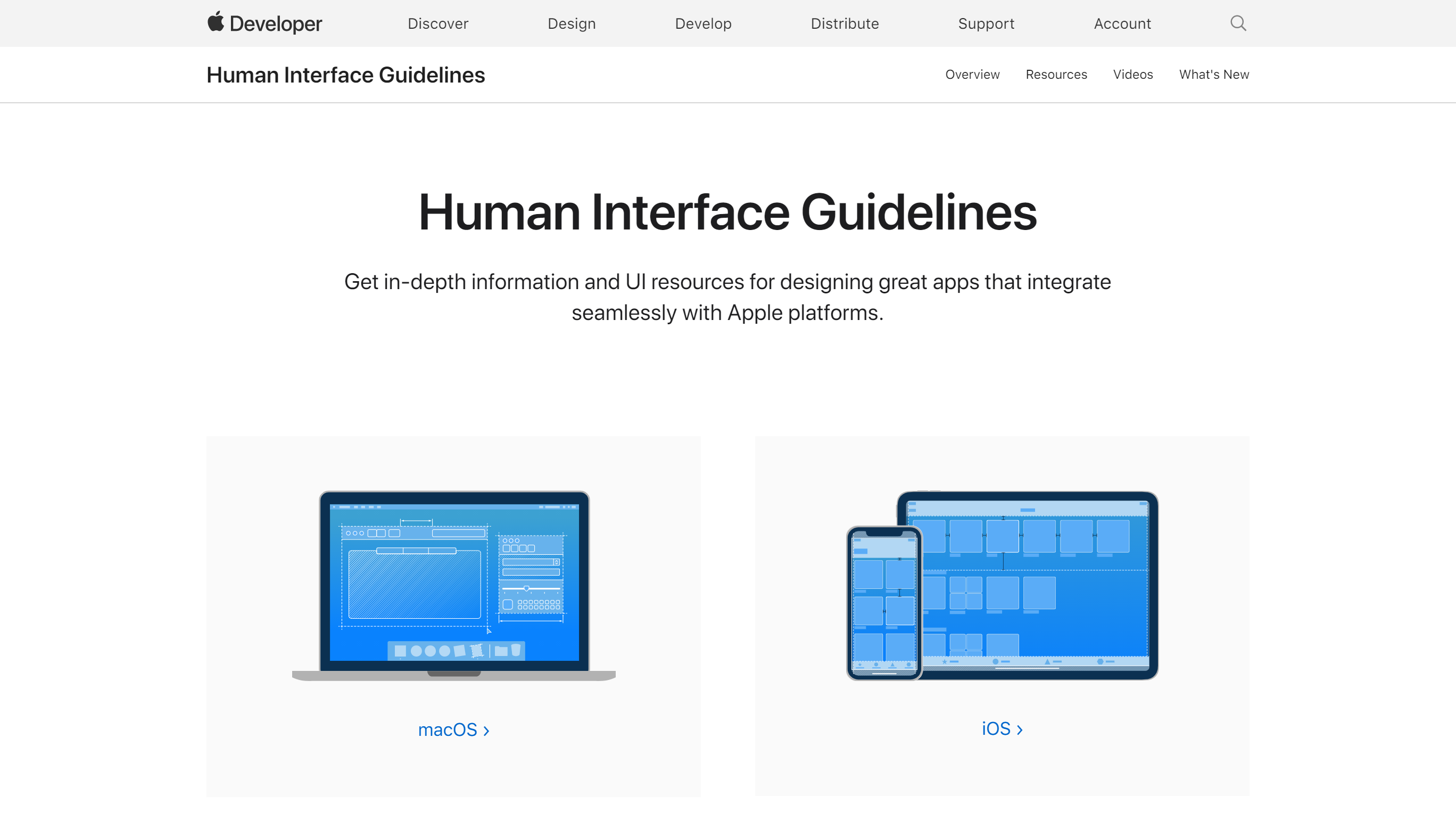 Apple,Human Interface Guidelines